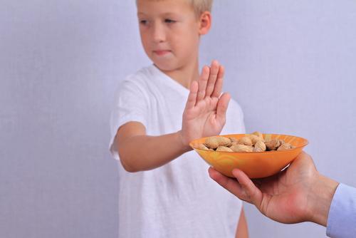 alergia amendoim